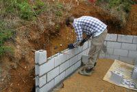 Making A Block Retaining Wall Part 2 Adys Garden regarding size 2560 X 1920