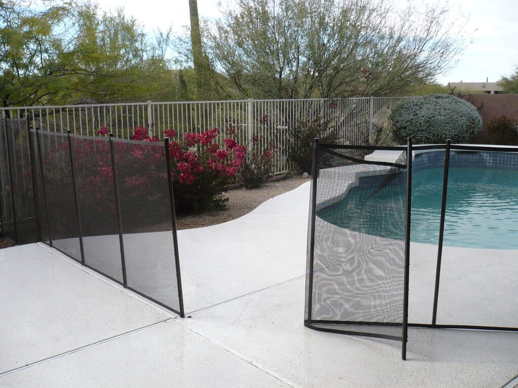 Mesh Pool Fencing Dcs Pool Barriers throughout dimensions 1024 X 768