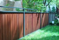 Metal Fence With Wood J Franco Steel Porches Wood And Wrought with sizing 1280 X 960