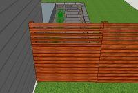 Mid Mod Minot Diy A Mid Century Modern Cedar Fence in proportions 1600 X 762