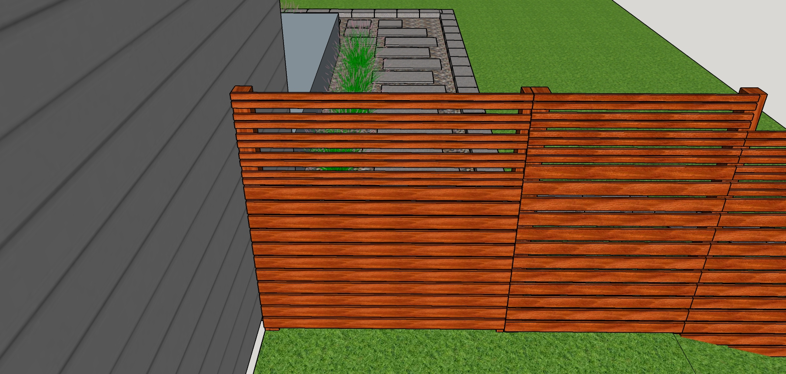 Mid Mod Minot Diy A Mid Century Modern Cedar Fence in proportions 1600 X 762