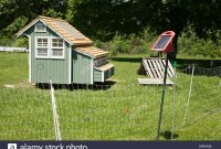 Movable And Stylish Chicken Coop Is Surrounded A Solar Powered throughout proportions 1300 X 956