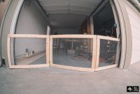 My Man Cave Part 1diy Dog Fence For Garage Doors Imaginary Zebra with measurements 1440 X 960