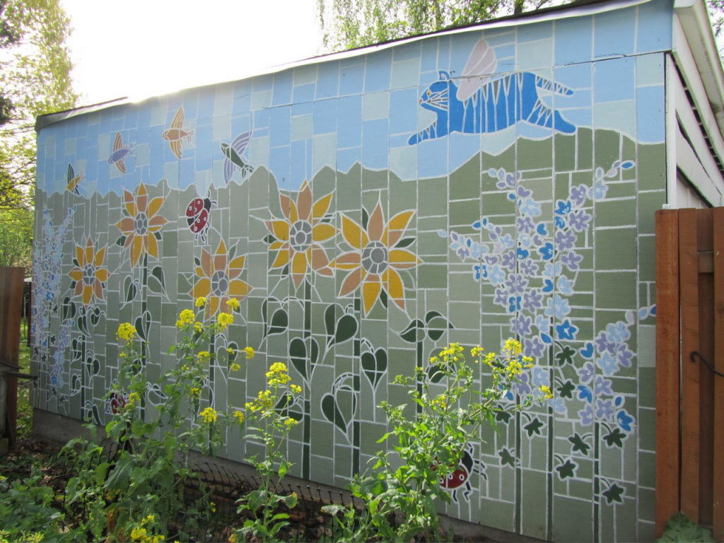 Outdoor Murals For Fences.Outdoor Murals For Fences Fence Ideas Site
