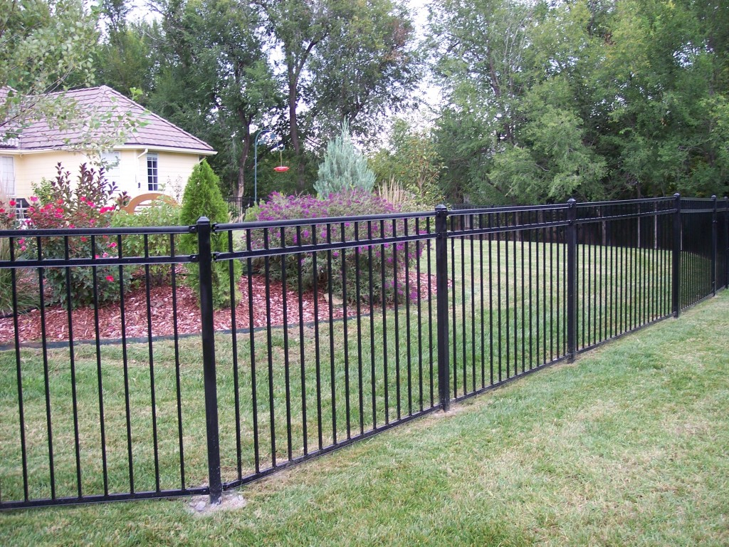Rod Iron Fencing Wichita Ks Fence Ideas Site