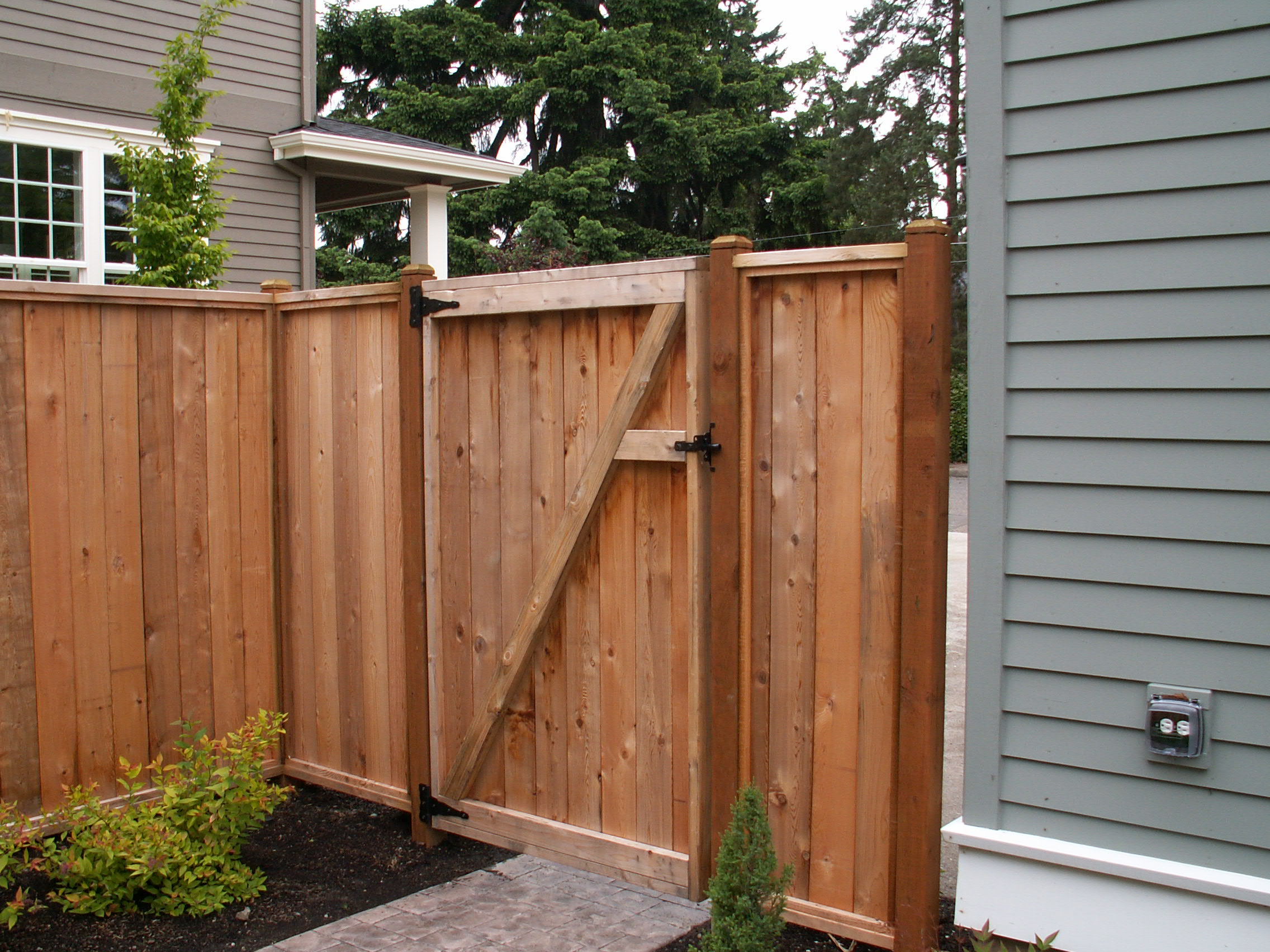 Pictures Of Wood Fences And Gates Fences Ideas in measurements 2272 X 1704