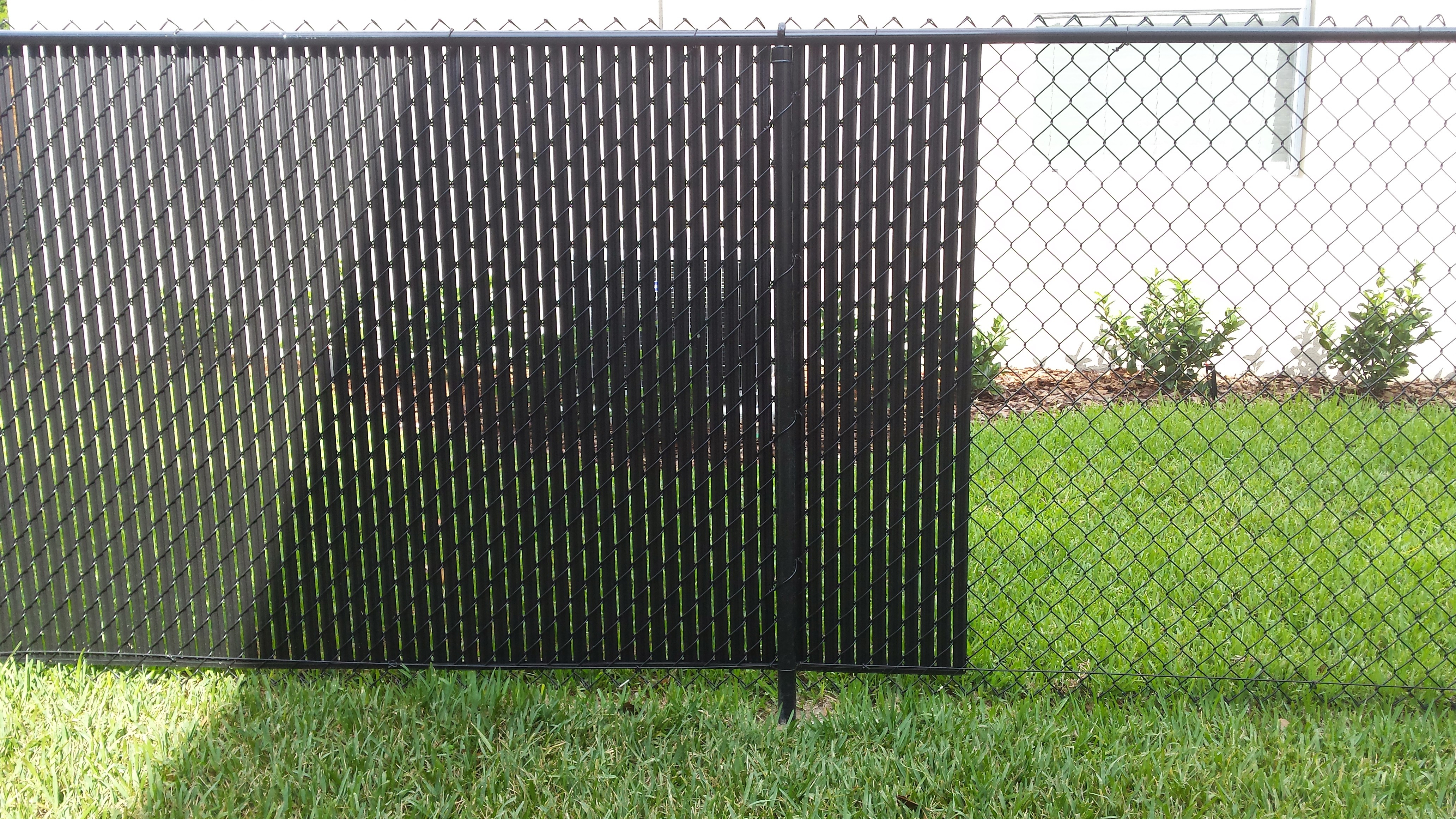 Black Plastic Chain Link Fence Fence Ideas Site