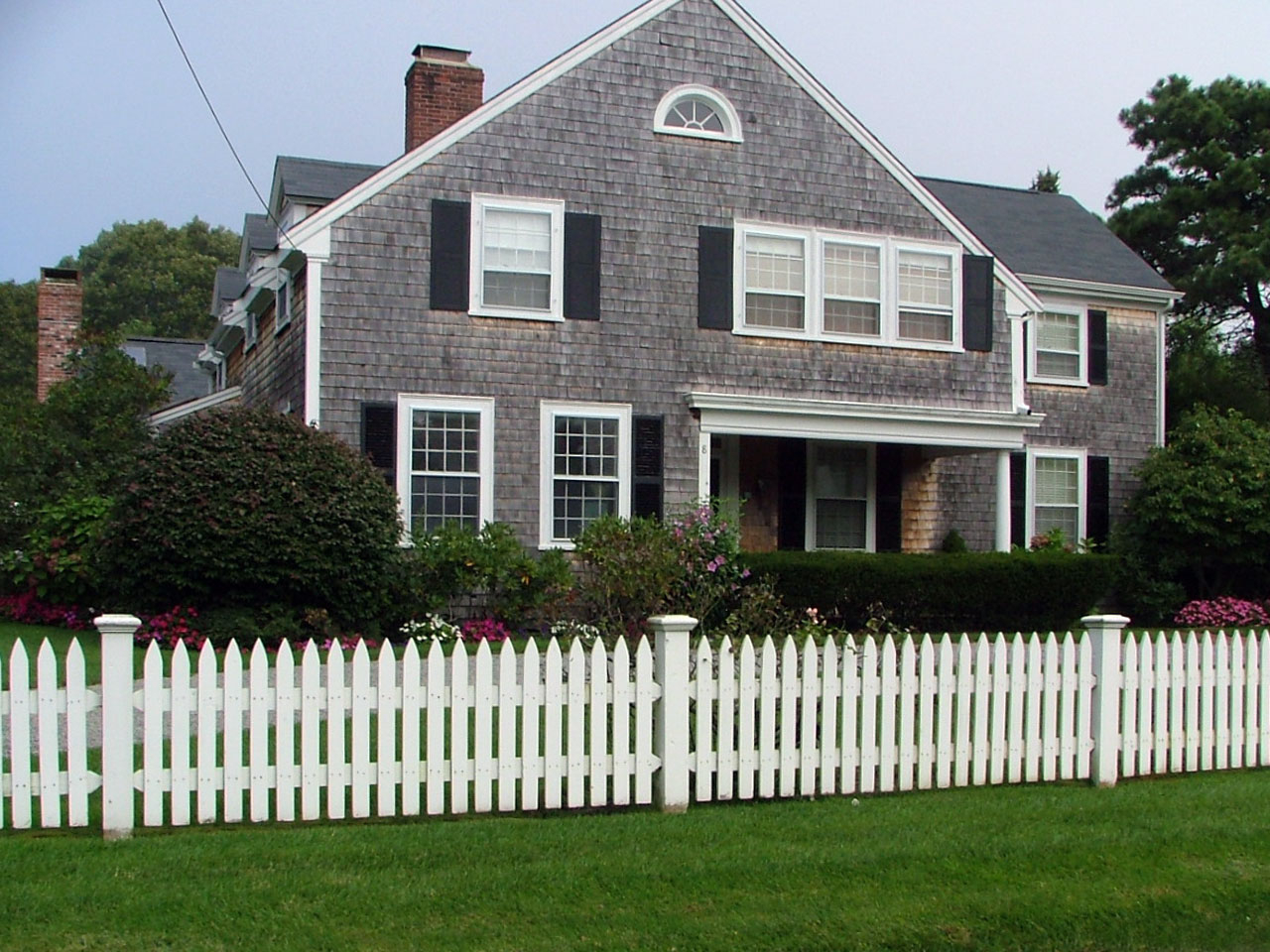 Plymouth Spaced Picket Fence Cape Cod Fence Company with regard to size 1280 X 960