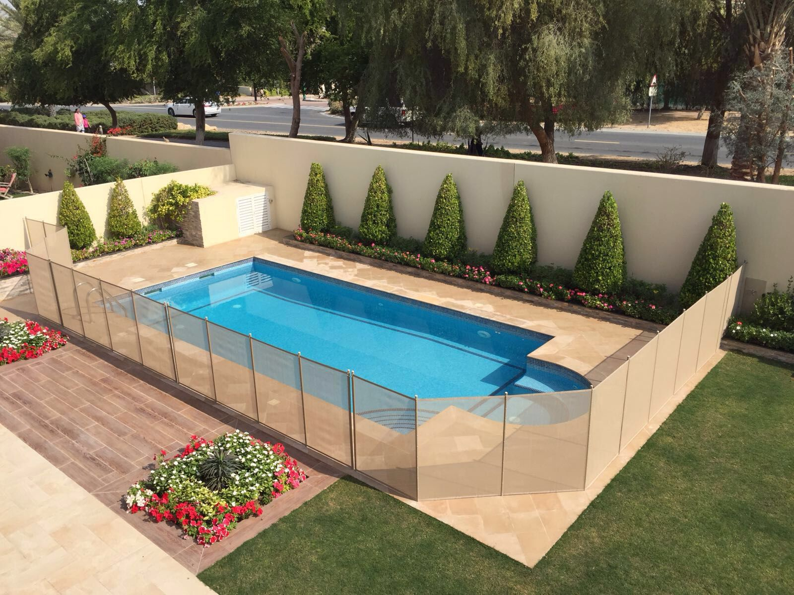 Pool Safety Fence Diy Kit For Inground Pools Fence Ideas Site