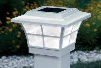 Prestige Solar Powered Lighted Post Caps White Solar Cap And for sizing 1200 X 1200
