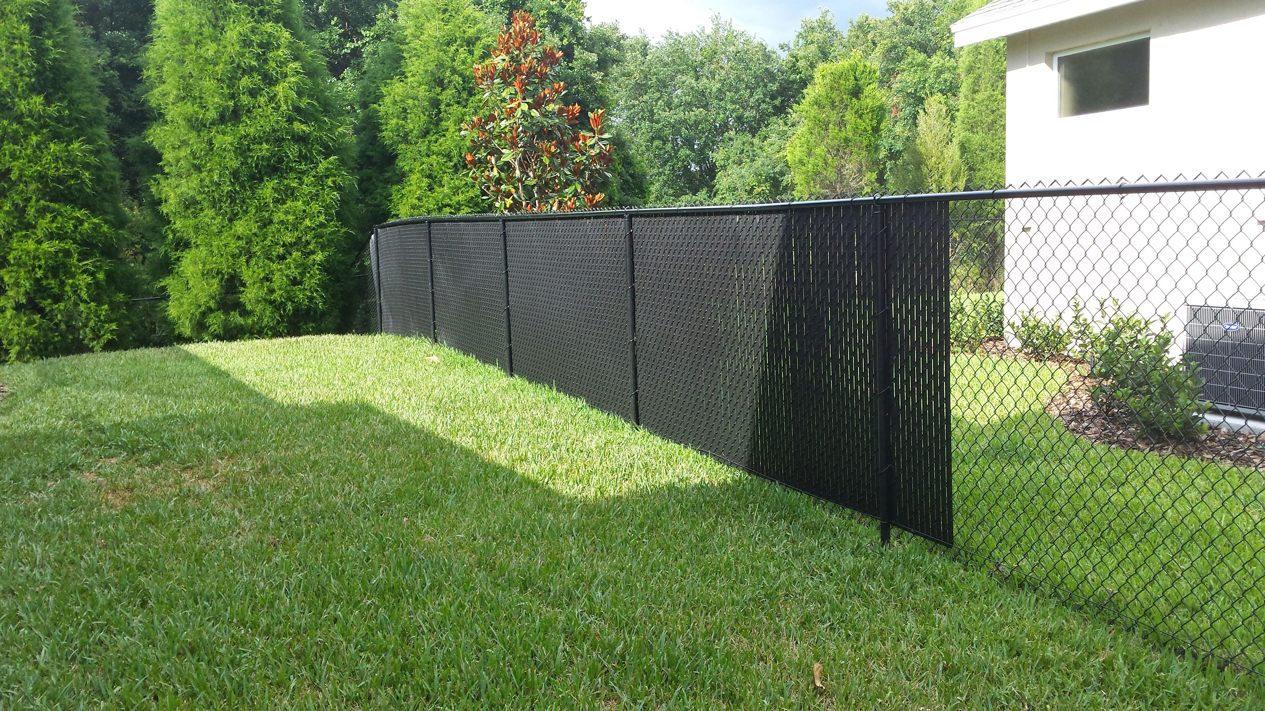cyclone fence privacy slats • fence ideas site