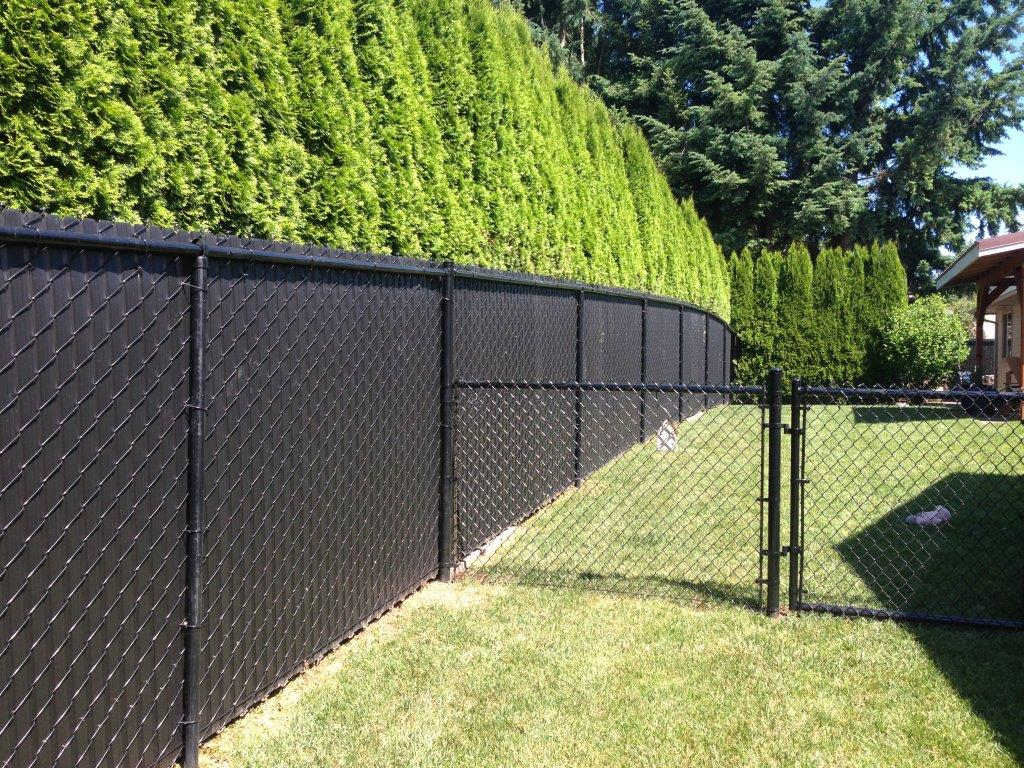 Chain Link Fence Weave Roll Fence Ideas Site