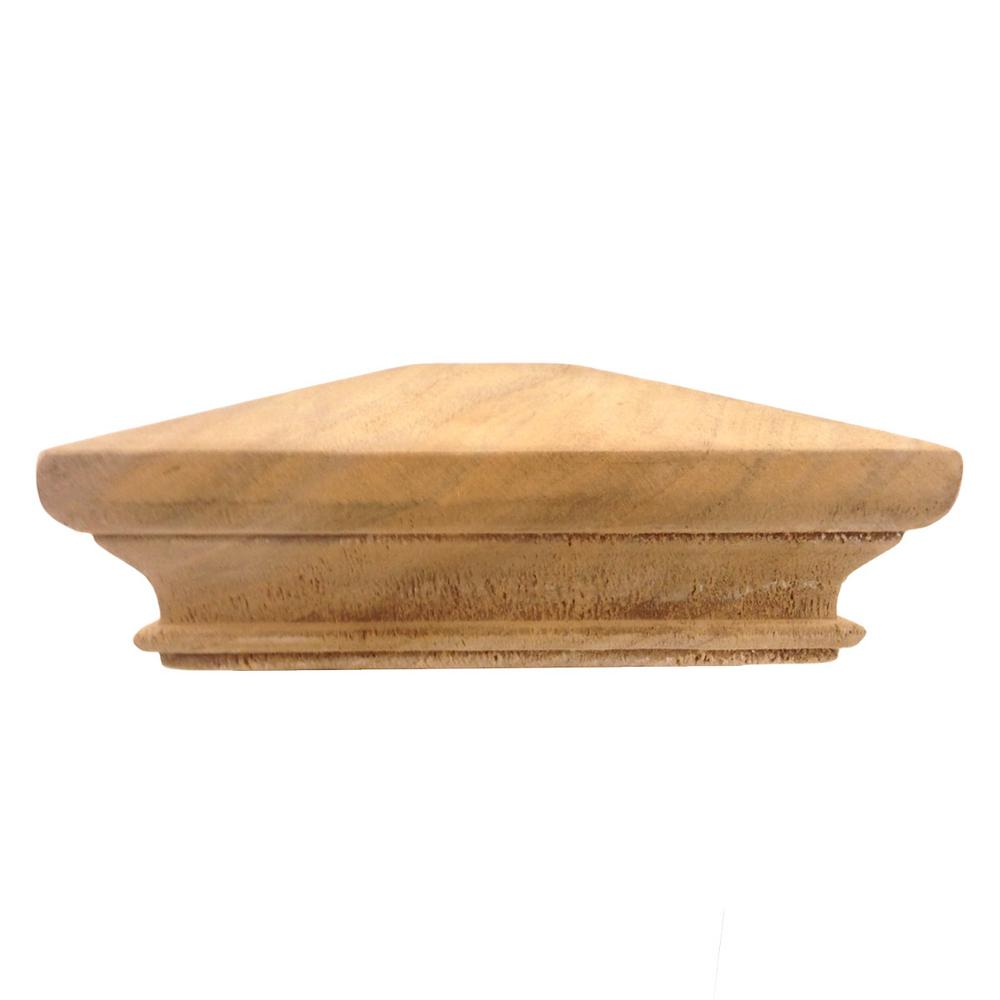 Protectyte Miterless 5 In X 5 In Untreated Wood Pyramid Slip Over with measurements 1000 X 1000