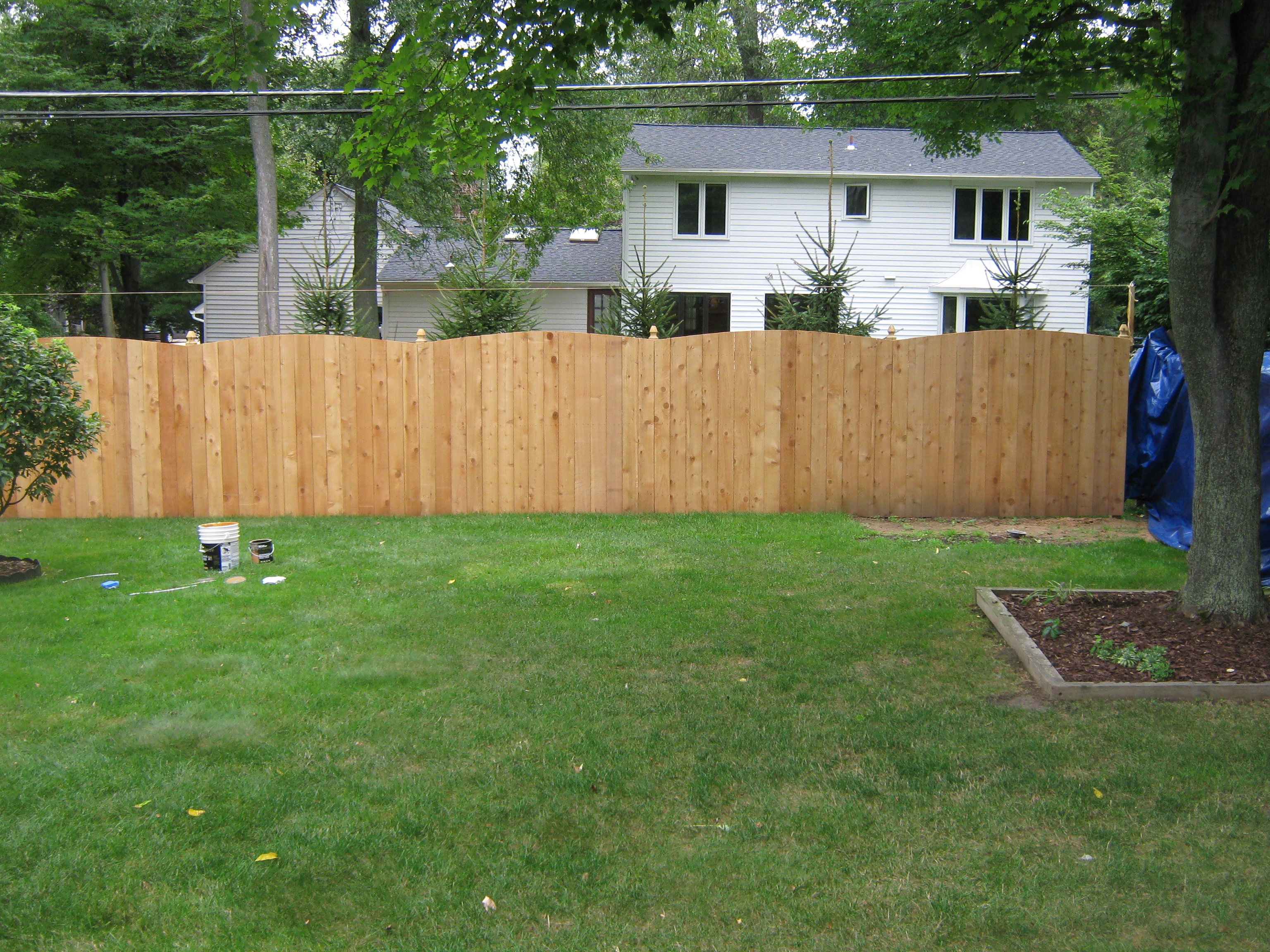 Red Cedar Sadler Fence And Staining Llc intended for measurements 3072 X 2304