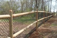 Round Wood Fence Posts And Rails Fences Ideas pertaining to size 3264 X 2448