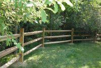 Rustic Split Log Fence Design Ideas Fences Ideas with regard to proportions 1500 X 1125