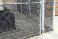 Small Weave Black Wire On Galvanized Chain Link Fence City Wide with dimensions 2048 X 1232