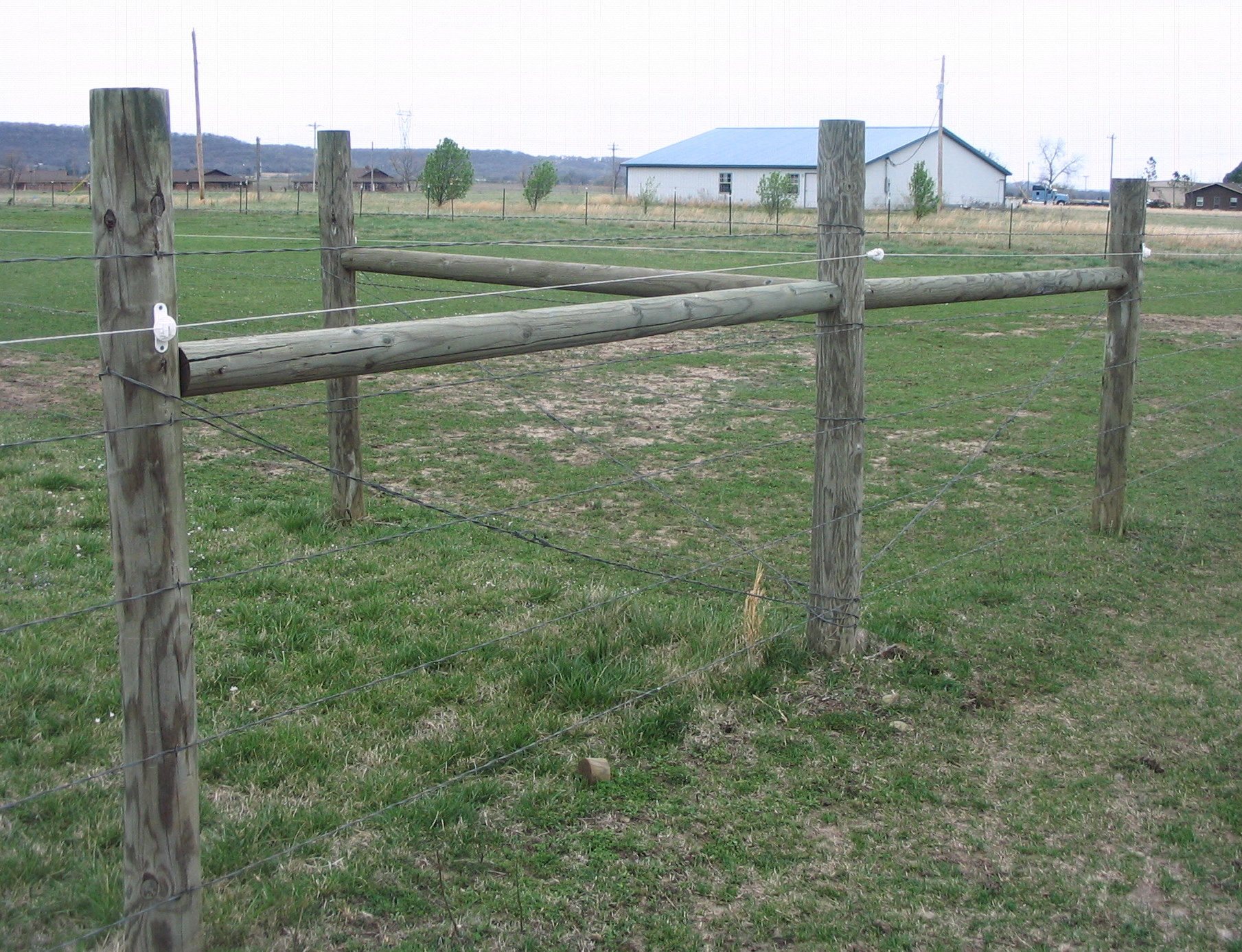 Wire Horse Fencing   Smooth Wire Horse Fence Fence Ideas Site