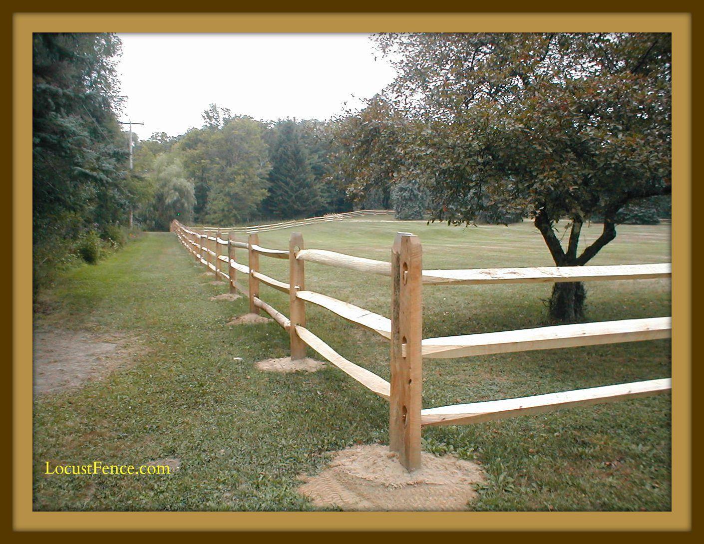 Split Rail Fence Post Spacing Fence Ideas Site