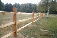 Split Rail Fence Prices Pressure Treated Split Rail Fence For 3 Rail within sizing 1024 X 768