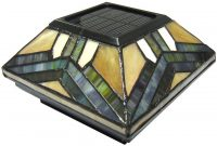 Stained Glass Solar Post Cap Lights 4x4 Or 5x5 Solar Post Cap in dimensions 840 X 1120