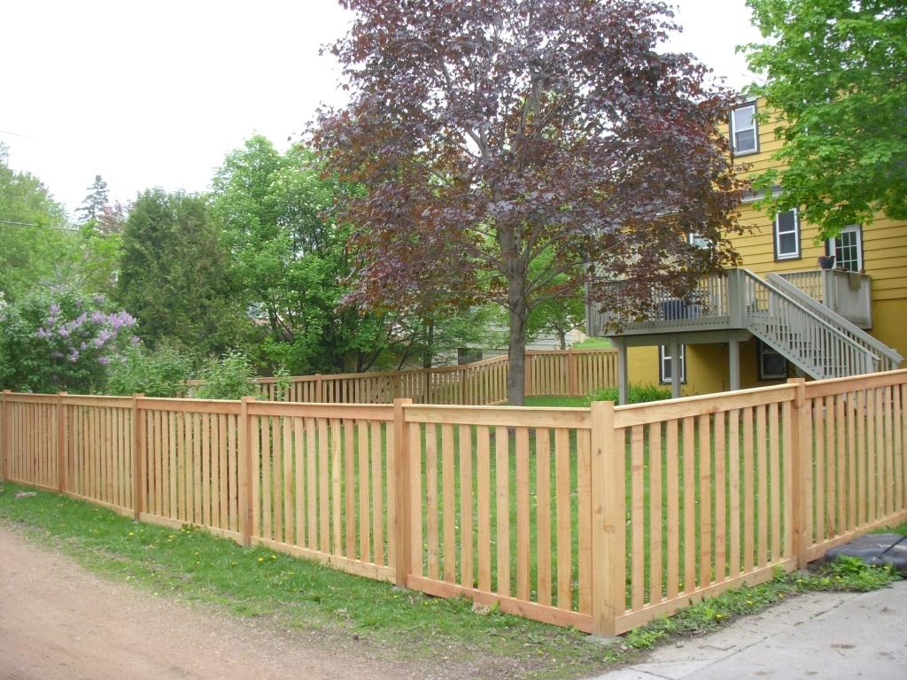 Image result for Four Kinds of Wooden Fences