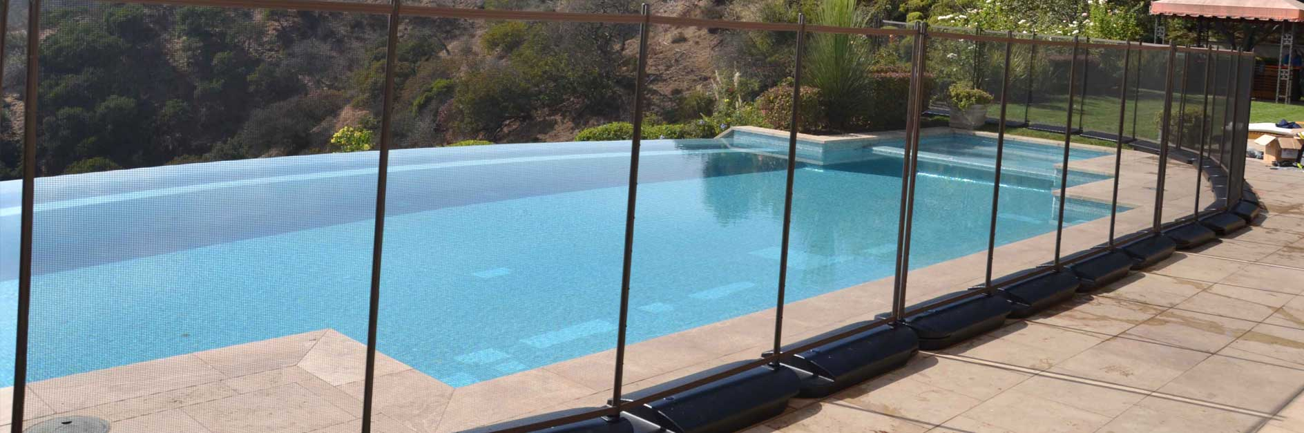 Temporary Pool Fencing No Holes Pool Fence pertaining to dimensions 1888 X 627