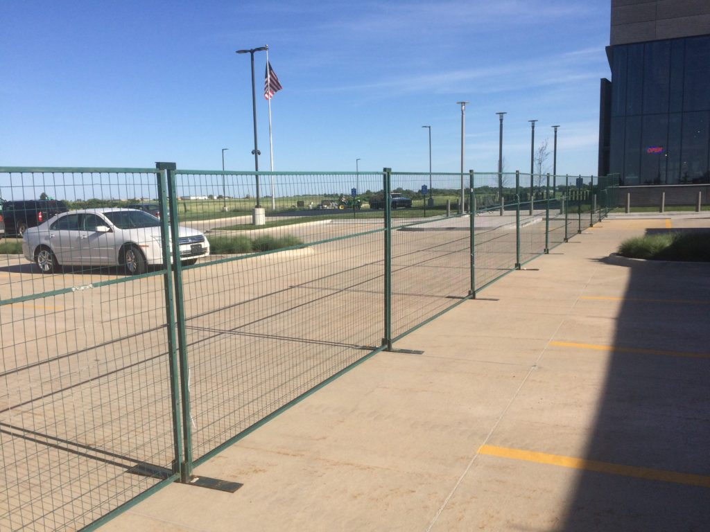 Temporary Steel Fencing Rental In Iowa Event Security intended for dimensions 1024 X 768
