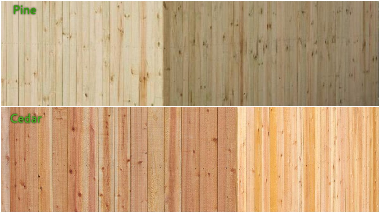 Cedar Vs Pressure Treated Fence Pickets Fence Ideas Site