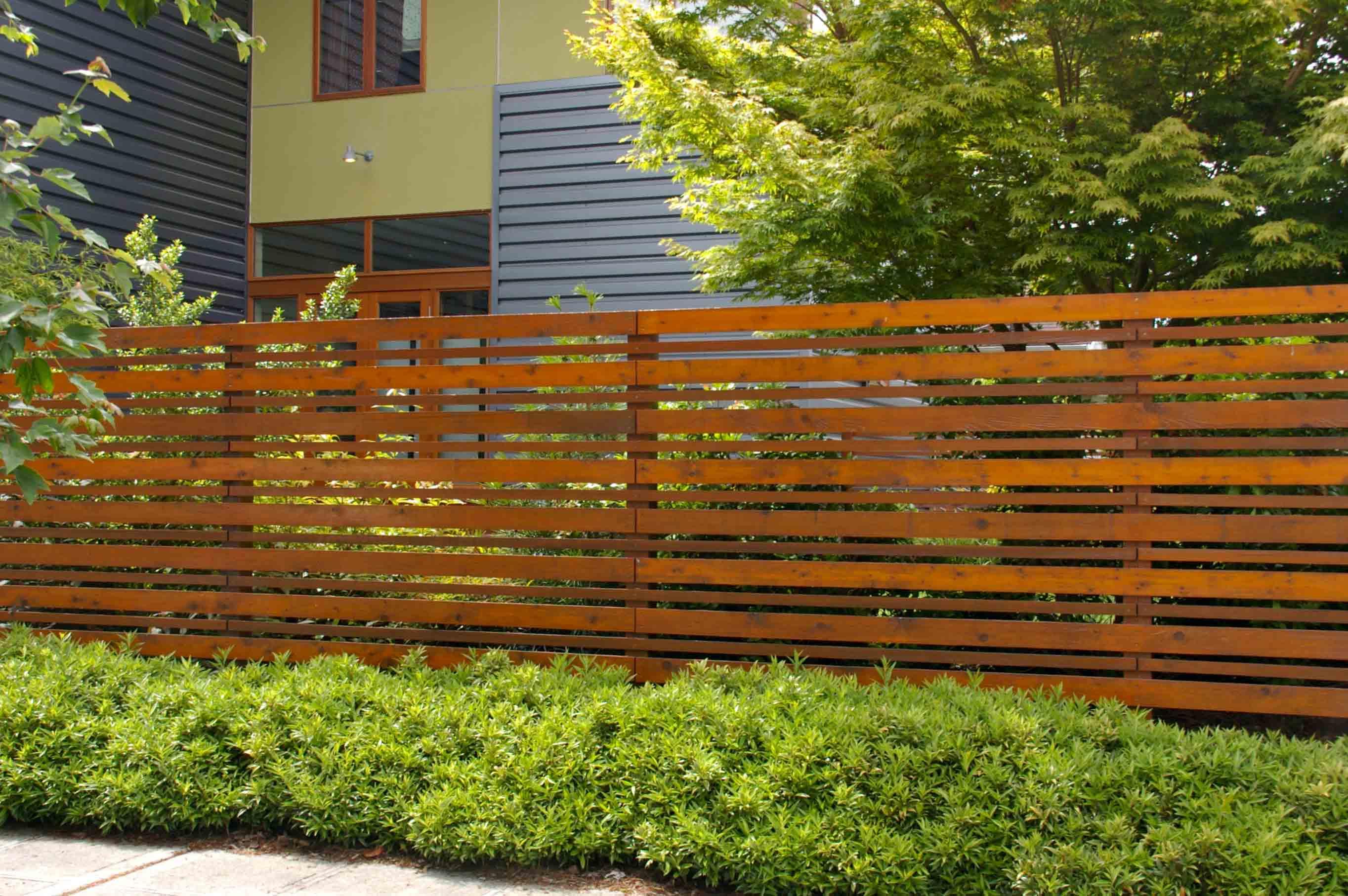 Short Decorative Wood Fence Fence Ideas Site