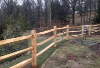 Treated Cedar Split Rail Fence Fences Ideas inside dimensions 3264 X 2448