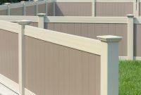 Two Color Illusions Pvc Vinyl Fence Idea Illusions Vinyl Fence inside measurements 1000 X 1000