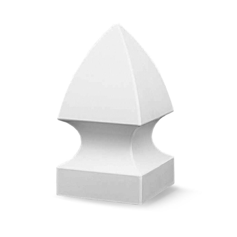 Veranda 4 In X 4 In White Vinyl Gothic Fence Post Cap 73010718 regarding size 1000 X 1000