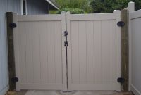 Vinyl Driveway Gates Arbor Fence Inc A Diamond Certified Company within size 1280 X 960
