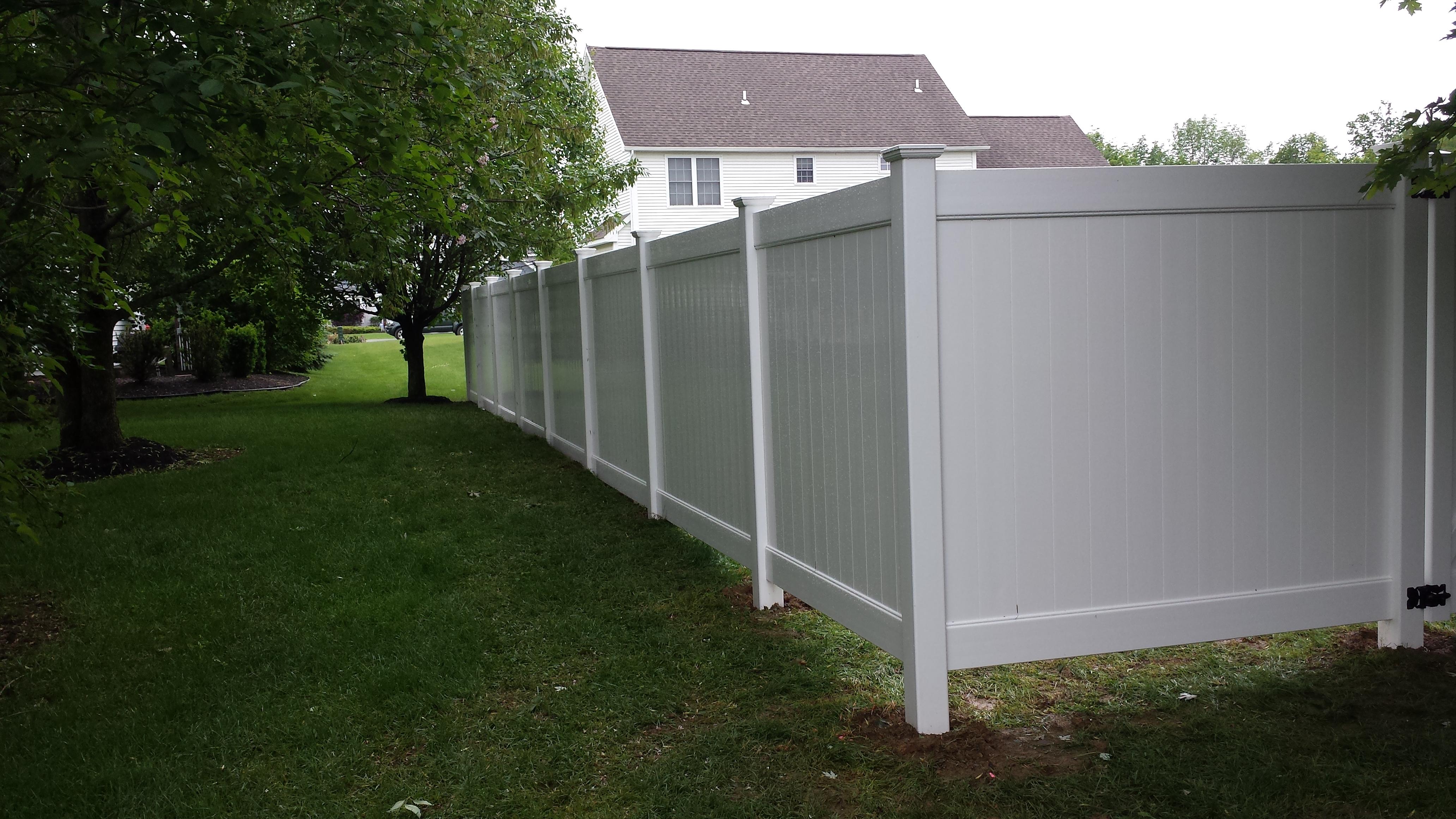 Fill Gap At Bottom Of Vinyl Fence Fence Ideas Site