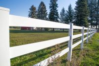 Vinyl Pasture Fencing Northwest Fence Company intended for proportions 1200 X 800