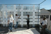 Weaving Acrylic Fence Panels Andersenmillerdesign throughout proportions 3008 X 2000