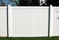 White Vinyl Fencing Panels Design Ideas Inspiration Vinyl intended for proportions 1229 X 922