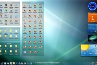 Win7 Desk With Stardock Fences Fediafedia On Deviantart within dimensions 1131 X 707