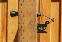 Wood Fence Latch Actuator Fence Ideas Wood Fence Latch regarding size 1239 X 826