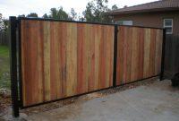 Wood Fence With Metal Gate Frame Httpwwwwoodesigner Has regarding dimensions 2048 X 1536