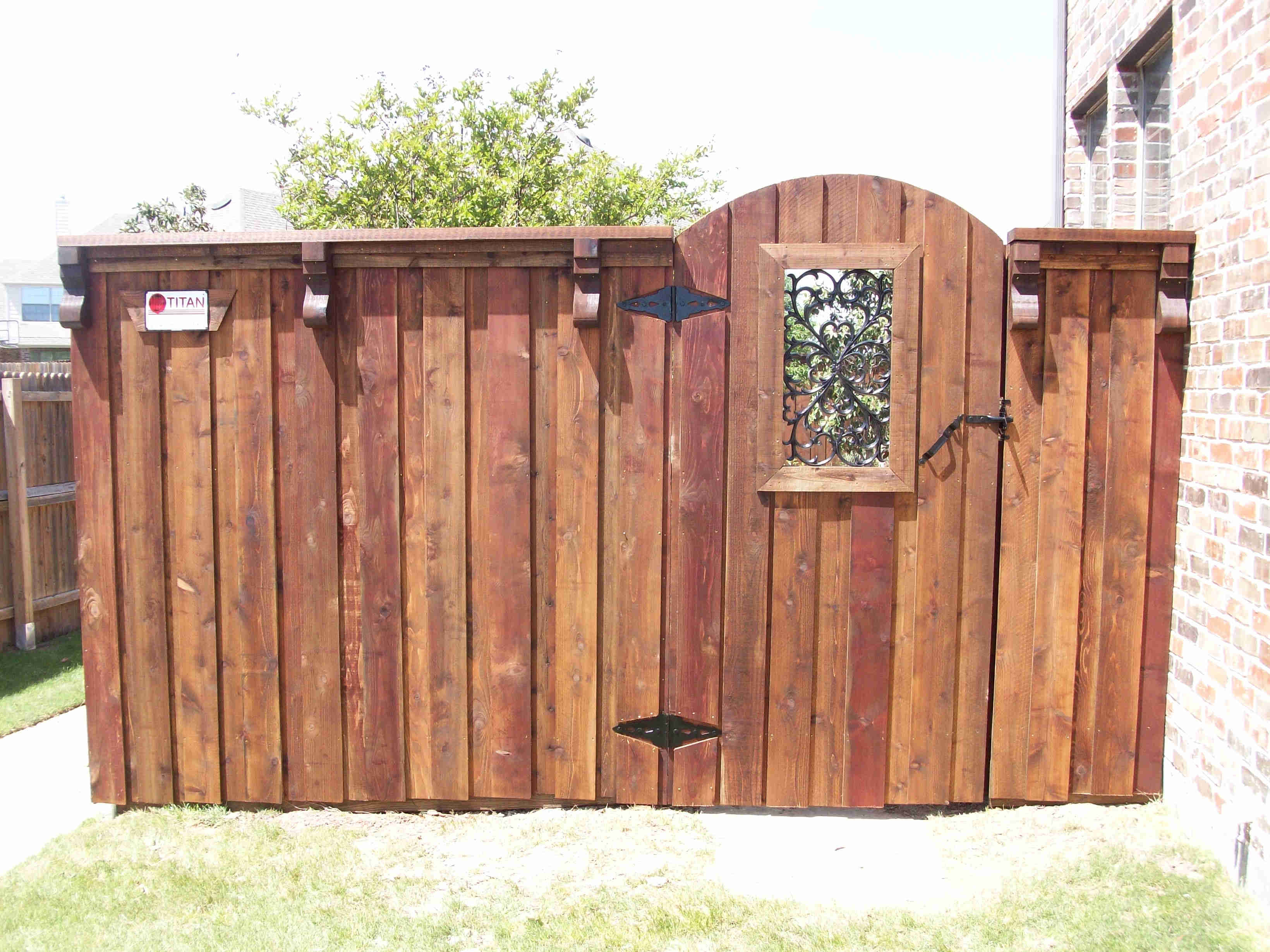 Decorative Wooden Fences And Gates Fence Ideas Site
