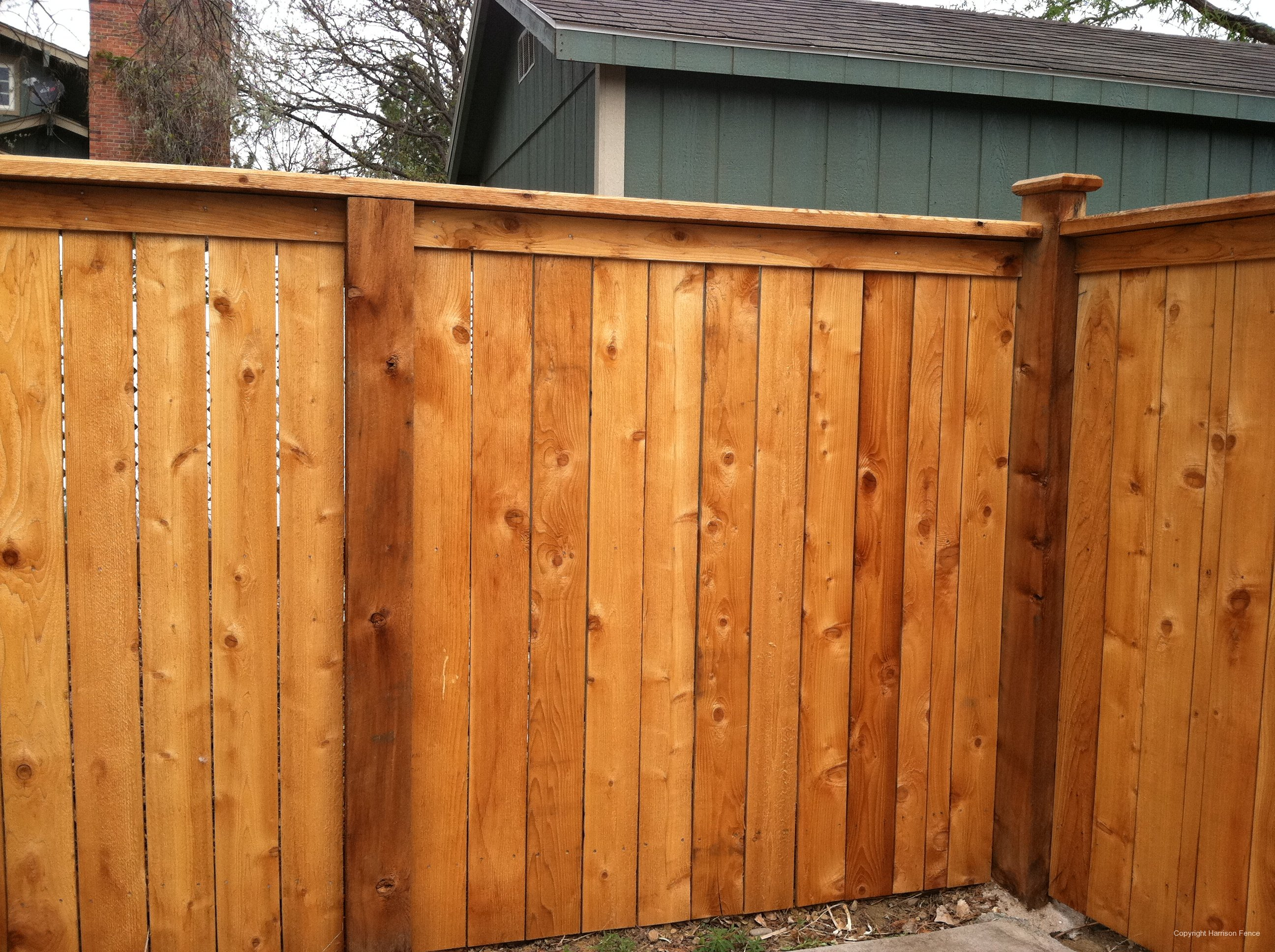 Wood Privacy Fences Harrison Fence with regard to measurements 2592 X 1936
