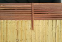 Wood Slat Fencing Bunnings Fences Design throughout sizing 2656 X 1494
