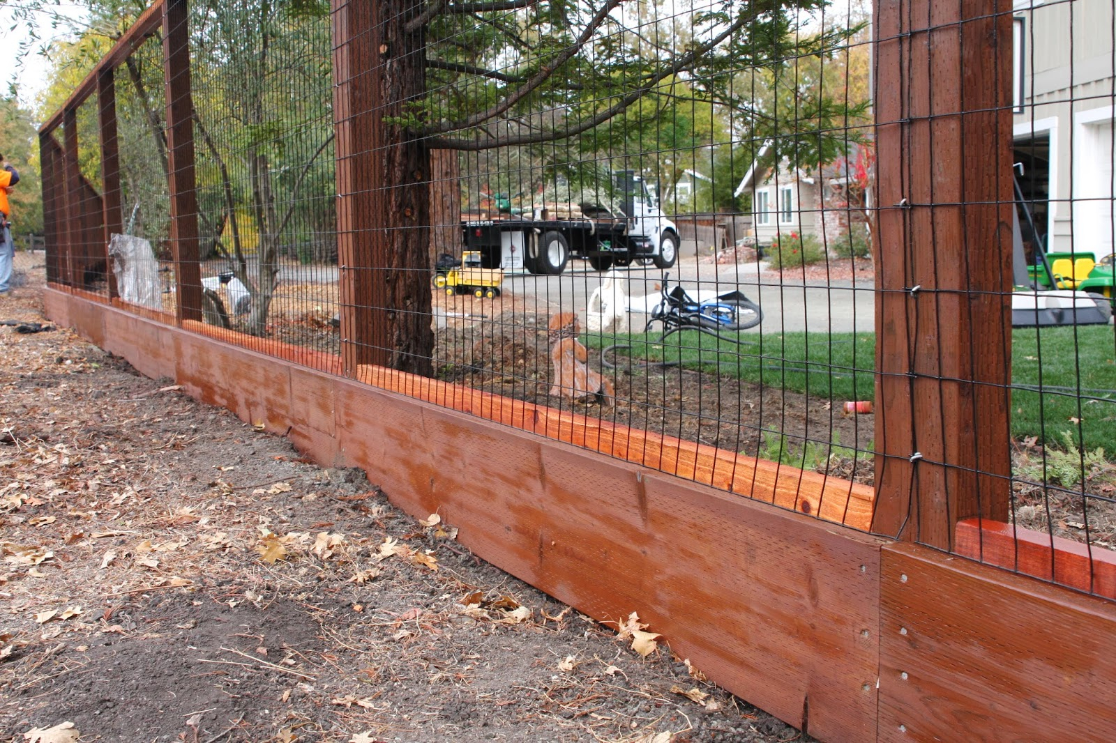 Wood Wire Fence Designs Ideas Site