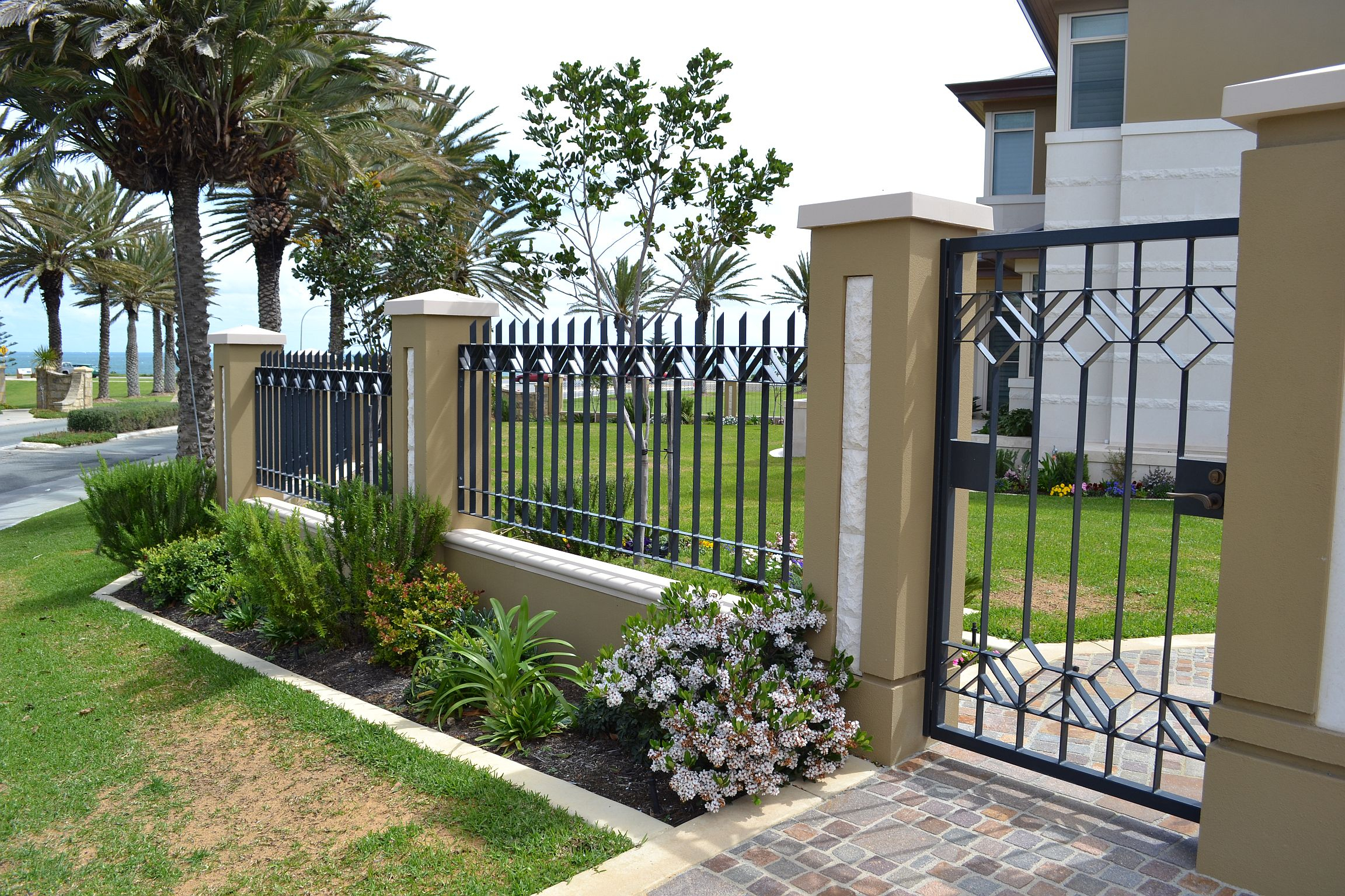 Iron Gates And Fences Designs Fence Ideas Site