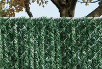 Yardgard 6 Ft H X 5 Ft W Green Privacy Hedge Slat Vinyl Fence regarding size 1000 X 1000