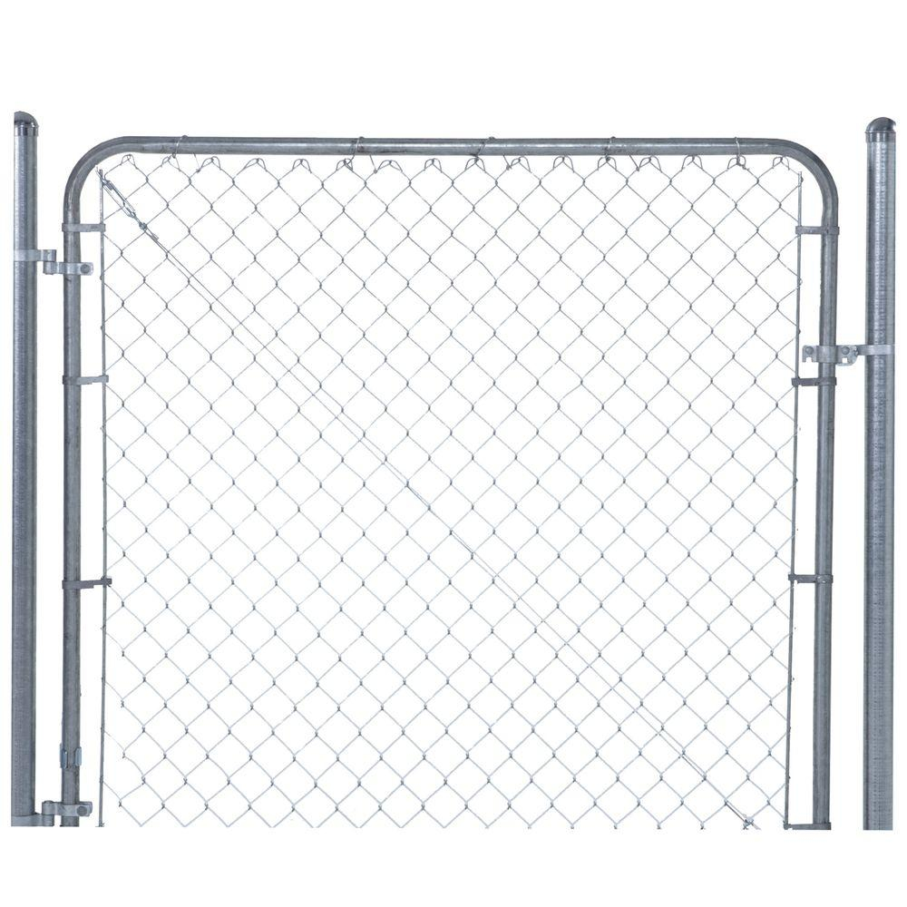 Yardgard 6 Ft W X 6 Ft H Galvanized Metal Adjustable Single Walk pertaining to proportions 1000 X 1000