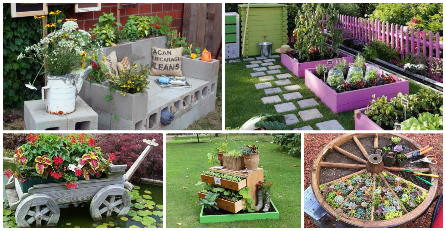 15 Diy Favorite Backyard Garden Ideas For This Summer with regard to sizing 1481 X 767