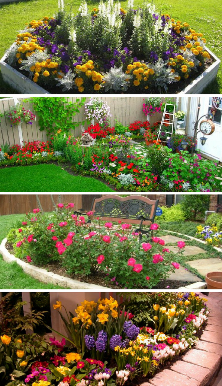 16 Small Flower Gardens That Will Beautify Your Outdoor for proportions 735 X 1280